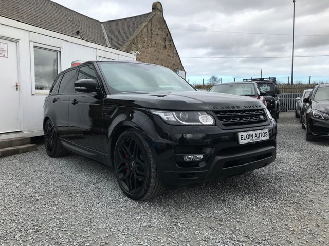 2017 67 LAND ROVER RANGE ROVER SPORT HSE Dynamic [Stealth Edition] 3.0 SDV6 Auto 5dr ( 306 bhp )
