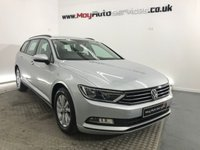 2017 VOLKSWAGEN PASSAT 1.6 S TDI BLUEMOTION TECHNOLOGY 5d 119 BHP £15495.00