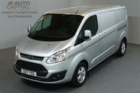 USED 2017 17 FORD TRANSIT CUSTOM 2.0 290 LIMITED LR P/V 5d 129 BHP LWB AIR CONDITION ALLOY WHEEL EURO 6 ENGINE  ONE OWNER FROM NEW