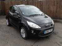2012 FORD KA 1.2 ZETEC 3d  LOW TAX AND INSURANCE  £4750.00