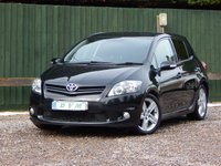 USED 2010 10 TOYOTA AURIS 1.6 SR VALVEMATIC 5d 132 BHP NEW MOT ON PURCHASE, FINANCE AVAILABLE