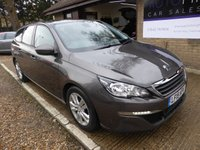 USED 2015 15 PEUGEOT 308 1.6 BLUE HDI S/S SW ACTIVE 5d 120 BHP FULL PEUGEOT SERVICE HISTORY, ZERO ROAD TAX, 1 OWNER, 2 KEYS
