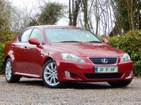 USED 2005 55 LEXUS IS 2.5 250 SE 4d 204 BHP NEW MOT ON PURCHASE, FULL SERVICE HISTORY