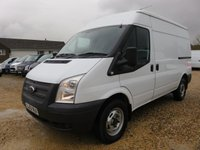 2013 FORD TRANSIT 2.2 TDCi 350 125 BHP MWB MEDIUM ROOF AIR CON 48796 MILES  £9995.00