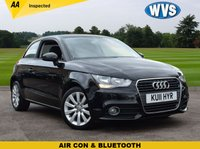 USED 2011 11 AUDI A1 1.4 TFSI SPORT 3d 122 BHP Just £7199 buys you this 2011 Audi A1 1.4TFSi Sport 3dr in black, complete with Audi service history and 2 keys.
