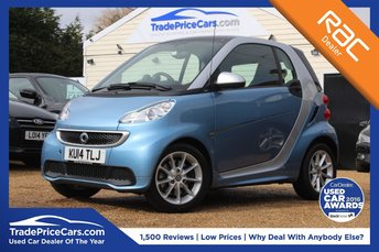 2014 SMART FORTWO 1.0 PASSION MHD 2d 71 BHP £5750.00