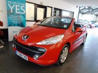 USED 2008 08 PEUGEOT 207 1.6 SPORT COUPE CABRIOLET 2d 118 BHP This 207 Cabriolet is finished in Bright red with Black cloth seats. It is fitted with power steering, remote locking, electric windows, mirrors and folding hardtop roof, air conditioning, alloy wheels, CD Stereo and more. It has been privately owned and comes with service history in the form of some stamps, invoices and old Mot certificates. The current Mot runs till June 2018. We will supply it with a 12 month MOT, a service and 6 months warranty. This 207 is in good order.