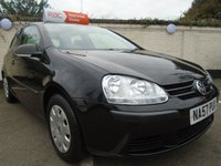 2007 VOLKSWAGEN GOLF 1.4 S 3d 79 BHP £SOLD