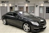 USED 2013 63 MERCEDES-BENZ CL 5.5 CL63 AMG 2d AUTO 544 BHP FULL MERCEDES BENZ SERVICE HISTORY + FULL BLACK LEATHER SEATS + COMAND SAT NAV + BLUETOOTH + FRONT MASSAGE SEATS + HEATED FRONT SEATS + 19 INCH ALLOYS + REVERSE CAMERA + SUNROOF + BLIND SPOT ASSIST