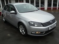 2011 VOLKSWAGEN PASSAT 1.6 S TDI BLUEMOTION TECHNOLOGY 4d 104 BHP £6995.00