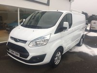 2015 FORD TRANSIT CUSTOM 270 LIMITED 2.2 125 SWB 6-Speed £SOLD