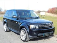 USED 2013 62 LAND ROVER RANGE ROVER SPORT 3.0 SDV6 HSE 5d AUTO 255 BHP SAT NAV, FRONT TV, DAB RADIO