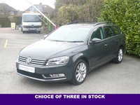USED 2015 64 VOLKSWAGEN PASSAT 2.0 EXECUTIVE TDI BLUEMOTION TECHNOLOGY 5d ESTATE140 BHP
