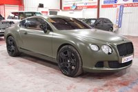 2011 BENTLEY CONTINENTAL 6.0 GT MDS 2d AUTO 567 BHP £58485.00