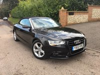 2012 AUDI A5 2.0 TDI SE 2d 177 BHP PLEASE CALL TO VIEW CONVERTIBLE £SOLD