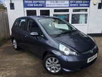 USED 2008 58 HONDA JAZZ 1.3 DSI SE 5d AUTO 82 BHP 33K FSH ONE LADY OWNER HIGH SPEC MODEL IN EXCELLENT CONDITION
