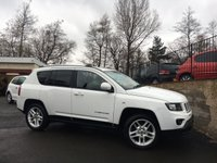2014 JEEP COMPASS 2.1 CRD LIMITED 5d 161 BHP £10995.00