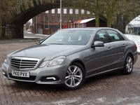 USED 2010 10 MERCEDES-BENZ E CLASS 3.0 E350 CDI BLUEEFFICIENCY AVANTGARDE 4d AUTO 231 BHP