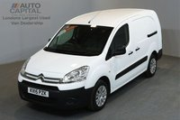USED 2015 15 CITROEN BERLINGO 1.6 750 LX 89 BHP L2 H1 LWB LOW ROOF ONE OWNER FROM NEW, SERVICE HISTORY