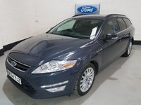 USED 2014 64 FORD MONDEO 2.0 ZETEC BUSINESS EDITION TDCI 5d 138 BHP 1 Owner / Ford service History(Recent Service) /Sat-Nav