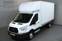 USED 2015 65 FORD TRANSIT 2.2 350 C/C DRW 3d 124 BHP LWB REAR TAIL LIFT FITTED LUTON VAN  ONE OWNER FROM NEW