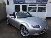 USED 2006 06 MAZDA MX-5 2.0 SPORT 2d 160 BHP 27K FSH 1 FAMILY OWNED 6 SPD HEATED LEATHER EXCELLENT CONDITION