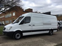 USED 2013 63 MERCEDES-BENZ SPRINTER 2.1 313CDI LWB HIGH ROOF 130BHP. 1 OWNER. FSH. FINANCE. LOW RATE FINANCE. PX WELCOME