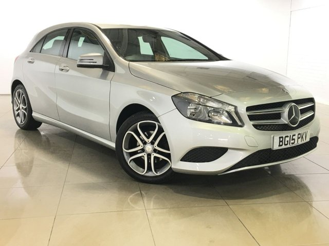 View our 2015 15 MERCEDES-BENZ A CLASS 1.5 A180 CDI BLUEEFFICIENCY SPORT 5d 109 BHP