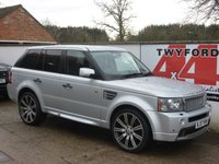 USED 2007 07 LAND ROVER RANGE ROVER SPORT 4.2 V8 SPORT HST 5d AUTO 385 BHP FACTORY HST WITH REAR ENTERTAINMENT