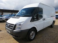 2011 FORD TRANSIT 2.4 TDCi 350 LWB SEMI HI 140 BHP AWD ALL WHEEL DRIVE AC 18040 MILES £13995.00