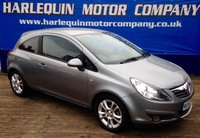 USED 2010 60 VAUXHALL CORSA 1.2 SXI 3d 83 BHP 2010 60 VAUXHALL CORSA SXi 3 DOOR MANUAL IN METALLIC PEWTER LOW MILES FULL SERVICE HISTORY ALLOYS ELECTRIC WINDOWS IDEAL FIRST CAR MUST BE SEEN