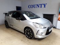USED 2013 63 CITROEN DS3 1.6 E-HDI AIRDREAM DSPORT 3d 111 BHP * SERVICE HISTORY * GREAT SPEC *