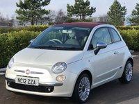 2012 FIAT 500 1.2 C LOUNGE 3d 69 BHP £6495.00