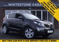 USED 2013 13 KIA SPORTAGE 1.7 CRDI 3 5d 114 BHP LOW MILEAGE HEATED FRONT AND REAR LEATHER SEATS PANORAMIC SUNROOF FSH@KIA, WARRANTY UNTIL 2020