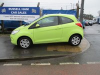 USED 2009 59 FORD KA 1.2 STYLE 3d 69 BHP £30 A Year Road Tax .3  Stamps Of Service History .New MOT & Full Service Done on purchase + 2 Years FREE Mot & Service Included After . 3 Months Russell Ham Quality Warranty . All Car's Are HPI Clear . Finance Arranged - Credit Card's Accepted . for more cars www.russellham.co.uk  - Book Pack.