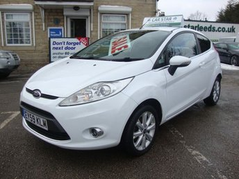 2009 FORD FIESTA 1.2 ZETEC ( 5 SERVICE STAMPS ) £4189.00