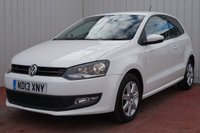 USED 2013 13 VOLKSWAGEN POLO 1.2 MATCH EDITION 3d 59 BHP FULL SERVICE HISTORY