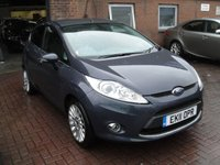 USED 2011 11 FORD FIESTA 1.4 TITANIUM 5d 96 BHP ANY PART EXCHANGE WELCOME, COUNTRY WIDE DELIVERY ARRANGED, HUGE SPEC