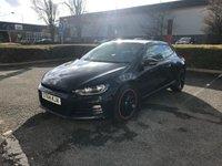 2014 VOLKSWAGEN SCIROCCO 2.0 GT TDI BLUEMOTION TECHNOLOGY 2d 150 BHP £9295.00
