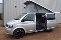 USED 2015 15 VOLKSWAGEN TRANSPORTER 2.0 T5 TDI - EVERY CONVERTED CAMPERVAN COME WITH OUR 3 YEAR MACHANICAL AND INTERIOR WARRANTY