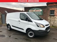 USED 2015 64 FORD TRANSIT CUSTOM 2.2 290 LR P/V 1d 100 BHP 3 Seat, One Owner, Finance Arranged.