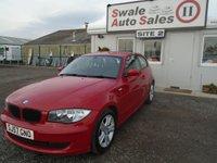 2007 BMW 1 SERIES 1.6 116I SE 3d 121 BHP £4795.00