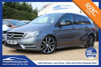 2014 MERCEDES-BENZ B CLASS 1.8 B200 CDI BLUEEFFICIENCY SPORT 5d 136 BHP £12650.00
