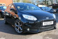 USED 2013 13 FORD FOCUS 2.0 ST-3 5d 247 BHP SAT NAV + LEATHER + FULL HISTORY