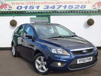 USED 2010 60 FORD FOCUS 1.6 ZETEC 5d 100 BHP FULL SERVICE HISTORY, 2 OWNERS, FINANCE AVAILABLE