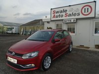 USED 2014 64 VOLKSWAGEN POLO 1.2 SE TSI 3d 89 BHP £47 PER WEEK, NO DEPOSIT - SEE FINANCE LINK BELOW
