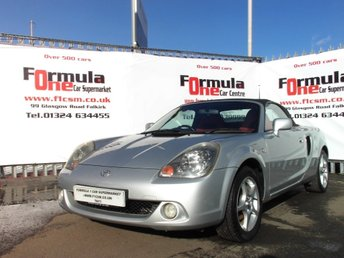 View our TOYOTA MR2