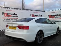 USED 2013 63 AUDI A5 2.0 TDI Black Edition Sportback 5dr 2 OWNERS+SERVICE HISTORY+VALUE