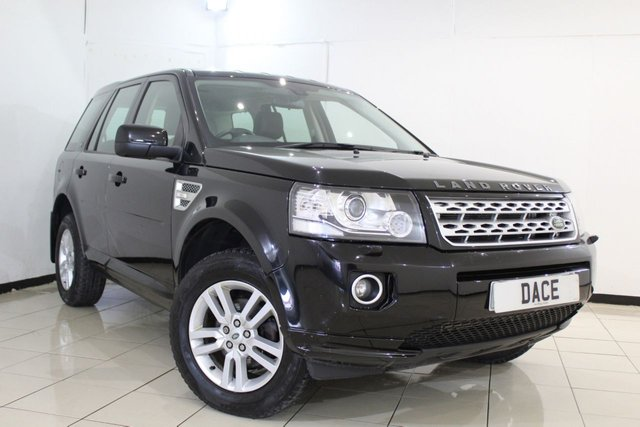 View our 2013 63 LAND ROVER FREELANDER 2.2 TD4 XS 5DR 150 BHP