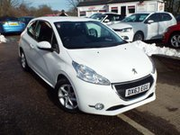 USED 2014 63 PEUGEOT 208 1.4 HDI ACTIVE 3d 68 BHP FULL Service History